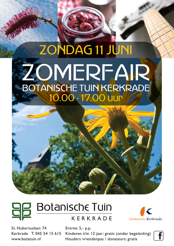 gemeente-kerkrade-poster-botanische-tuin-zomerfair